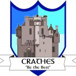 Crathes house badge
