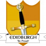Edinburgh house badge